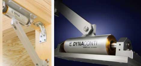 岐阜イタヤホームの注文住宅に採用している「木造住宅制振金物 ダイナコンティ」の写真