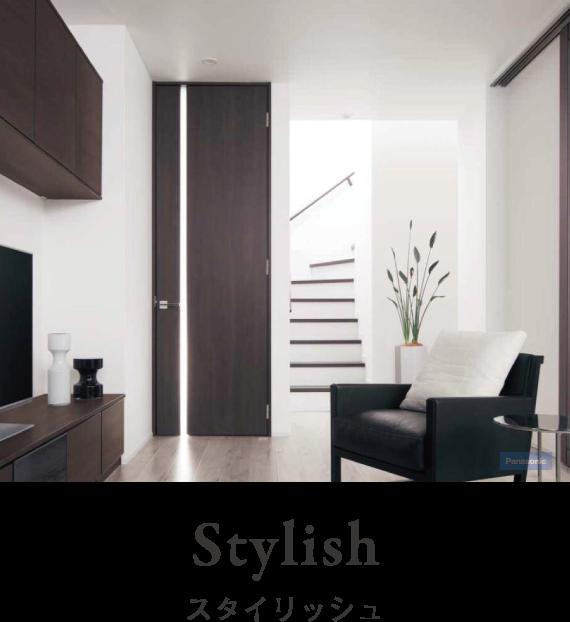 注文住宅イメージ写真。建築スタイル「スタイリッシュ Stylish」な家の中の写真