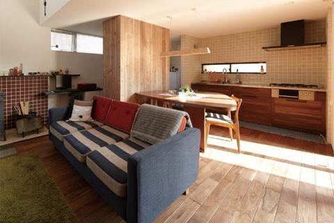 岐阜イタヤホームの注文住宅カフェスタイルのサンプル写真4。インテリア