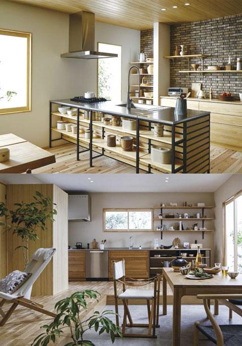 岐阜イタヤホームの注文住宅カフェスタイルのサンプル写真3。リビング